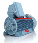 NXR High Voltage Rib Cooled Motor