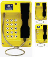 GAI-Tronics Commander Plastic Bodied Heavy Duty Telephones