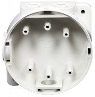 Hochiki MBB-2(WHT) Marine Mounting Back Box With Glands