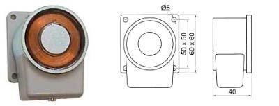 Elomek 712 Door Holder Magnet