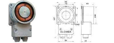 Elomek 720 Door Holder Magnet