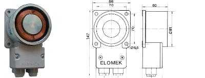 Elomek 721 Door Holder Magnet