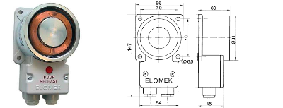Elomek 721T Door Holder Magnet