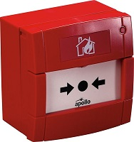 Apollo Conventional Manual Call Point without LED - indoor red (55100-001APO)