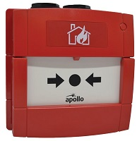 Apollo Conventional Waterproof Manual Call Point without LED - outdoor red (55100-003APO)